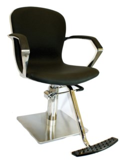 European Design Styling Chair W/Footrest