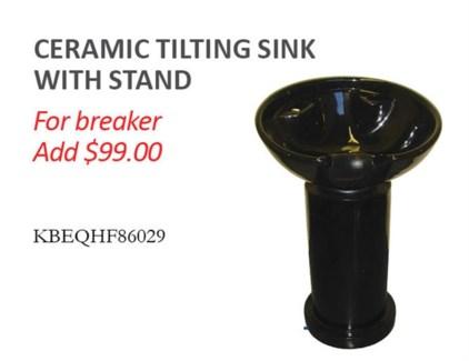 Fion Pivoting Pedestal Sink & Stand