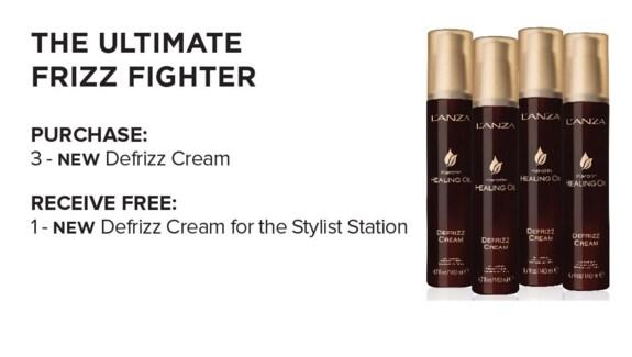 ! 3+1 LNZ LNZ KHO Defrizz Cream SO18