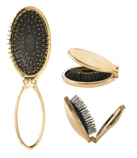MKW Mini Pop Folding Wet Brush GOLD