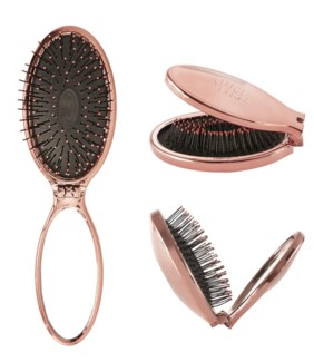 MKW Mini Pop Folding Wet Brush ROSE GOLD