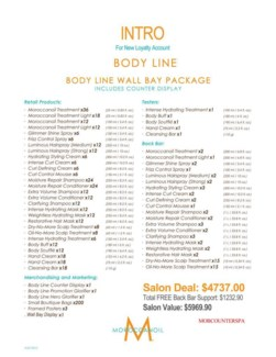 ! Moroccanoil Body Wall Bay Intro