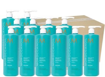 CASE 12 x Ltr MOR Extra Volume Shampoo