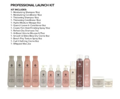 ! NEW ONESTA Professional Launch Kit SO1
