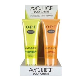 8pc Avojuice Body Cream Display
