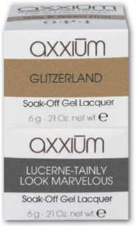 Axxium Soak-Off Glizt & Glam Duo