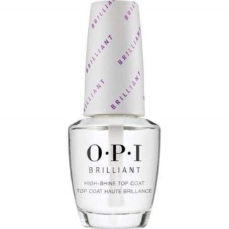 % 1/2oz OPI Brilliant Top Coat