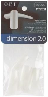 Size 7 Dimension 2.0 Nat Tip 20pk