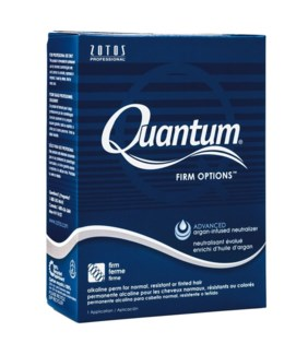 $ Quantum Firm Options Perm Blue