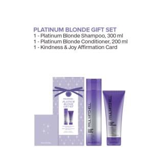 $BF Platinum Blonde LET IT GLOW Gift Set