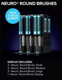 $BF  Neuro Round Brush Display MA18
