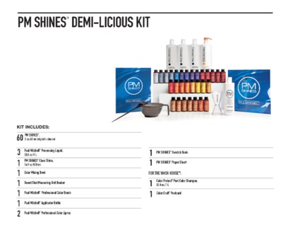 PM Shines Demi-Liscious Kit(CHOOSE60)