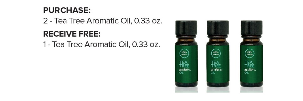 ! 2+1 10ml Tea Tree Aromatic Oil ND18