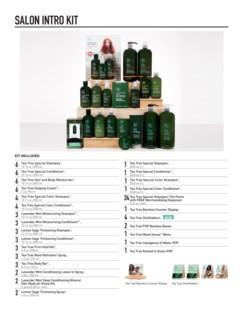 Tea Tree Experience Salon Kit