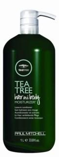 Ltr TeaTree Hair&Body Moisturizer 33.8oz