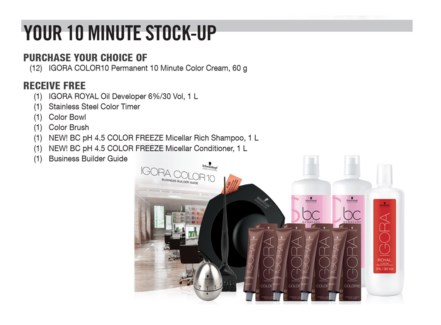 ! IG Color10 Stock Up Kit BUY12COLORSO18