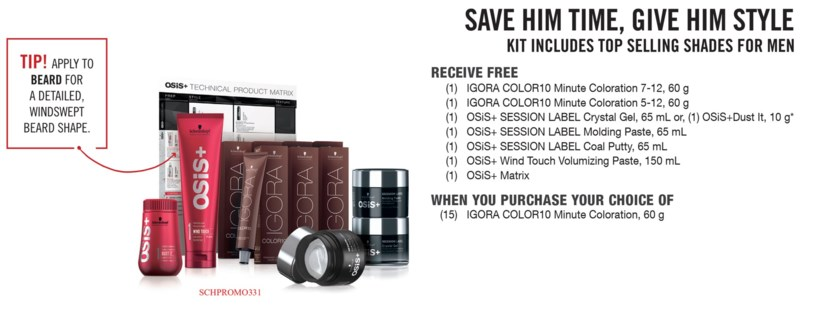 ! Color10 MASTER HIS STYLE KIT BUY15COLO