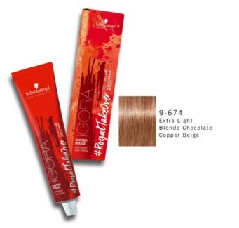 9-674 Ex Lgt Bld Choco Copper Beige RTO