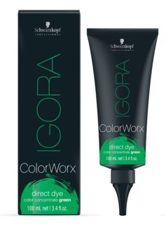 IG ColorWorx Direct Dye Green 100ml