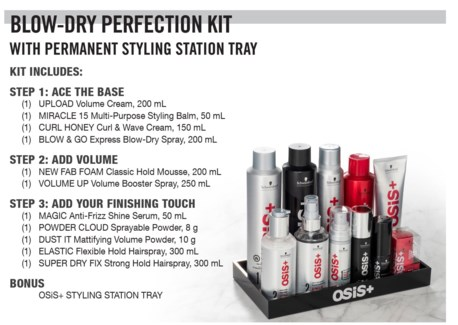 Osis+ Styling Perfection Kit SO18