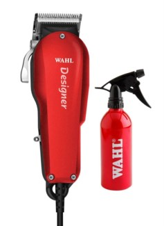 Wahl Designer Clipper + Spray Bottle