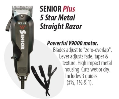 Senior Plus Clipper + Strgt Razor