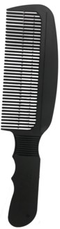 Wahl Barber Flat Top Comb BLACK