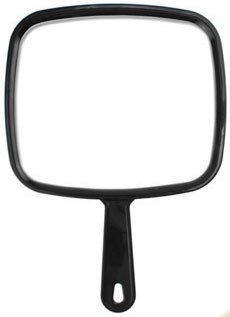 5 Star Barber Handheld Mirror