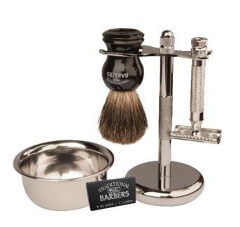 Traditional Barber Classic Shave Kit