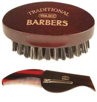 Traditional Beard Brush & Comb Set ND18