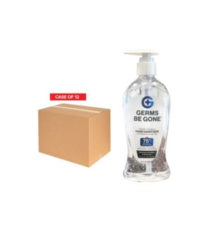 ! PPE 12 x GERMS BE GONE HAND SANITIZER 236ml X 12 UNITS