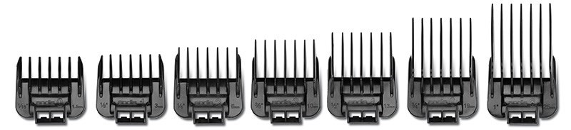 7pc Snap On Comb / Guide Set ML