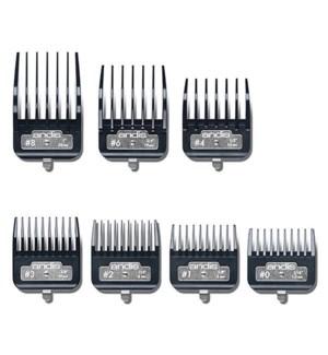 BG Metal Clip Combs 7PC