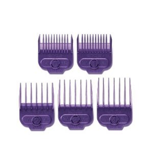 Small Magnetic Purple Guide Comb 5pc