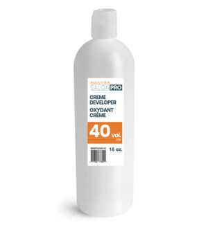 500ml 40 Volume Cream Developer 16oz BBSPCD40V16
