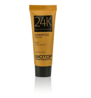 * 20ml BIO 24K GOLD Shampoo SAMPLE TUBE