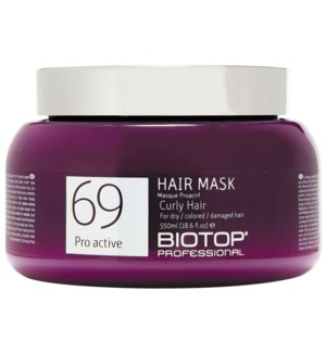 550ml BIO 69 Curly Hair Mask PRO ACTIVE