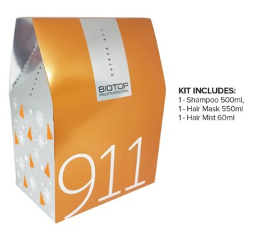 BIO 500ml 911 Quinoa Sham & Mask DEC2018