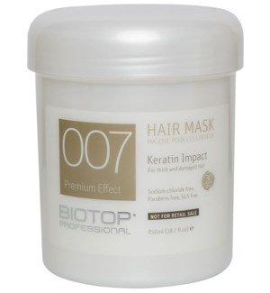 850ml BIO 007 Keratin Impact Mask 254512