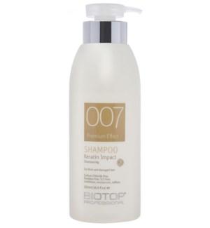 500ml BIO 007 Keratin Impact Shampoo 197251