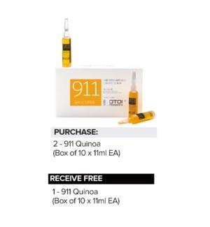 ! 2+1 BIO 911 Quinoa Oil 10x11ml Ampoules SO2021
