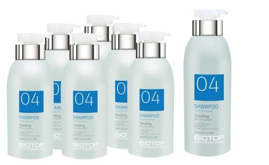 ! 6+1 330ml BIO 04 Shedding Shampoo MJ19