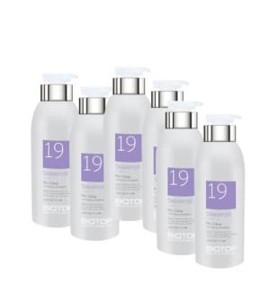 ! 6+1 500ml BIO 19 Pro Silver Shampoo JA19