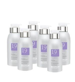 ! 6+1 330ml BIO 19 Pro Silver Shampoo JA19