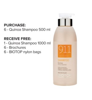 ! 6+1 BIO 911 Quinoa Shampoo Intro ONGOING