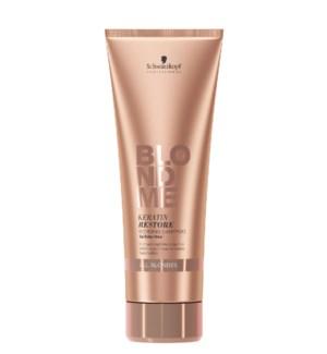New BlondMe Keratin Restore Bonding Shampoo 250ml