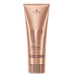 New BlondeMe Tone Enhancing Shampoo Warm Blondes 250ml