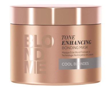 New BlondMe Tone Enhancing Bonding Mask Cool Blondes 200ml