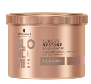 BlondMe Keratin Restore Bonding Mask All Blondes 500ml