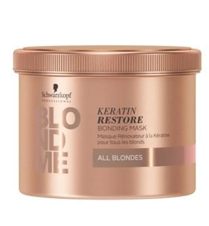 BlondMe Keratin Restore Bonding Mask All Blondes 500ml